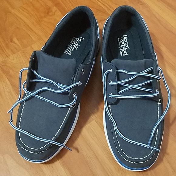 Mens Dexter Comfort Memory Foam Shoes